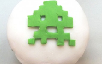 Space Invaders Muffin